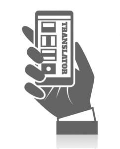 Telephone interpretation icon