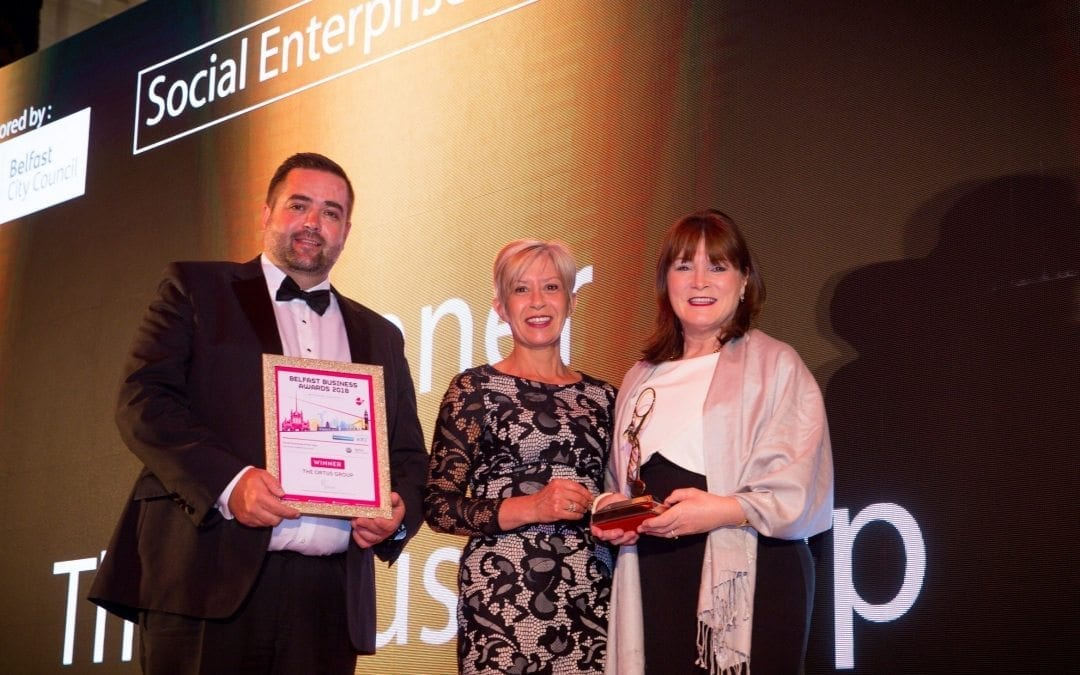 The Ortus Group – Belfast Business Awards Social Enterprise of the Year 2018